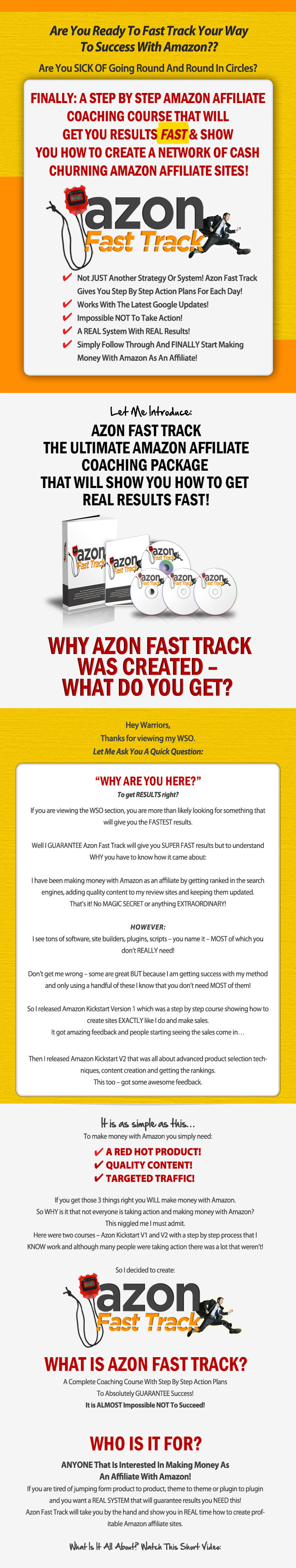 get amazon fast track the ultimate amazon coaching course 7